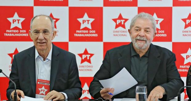 ルーラ前大統領(労働者党本部で、Ricardo Stuckert/Instituto Lula)