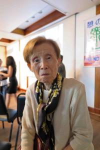 宮腰陽子さん(88、東京都)