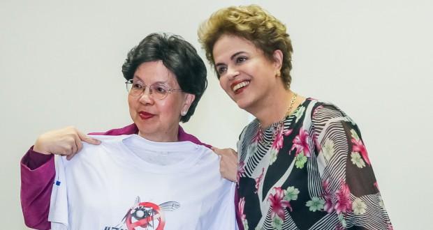世界保健機関(WHO)のマーガレット・チャン事務局長(Roberto Stuckert Filho/PR)