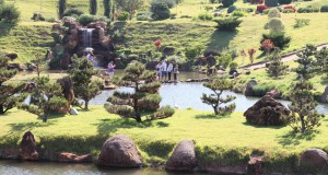 2014年に正式に開所式をしたマリンガー日本公園