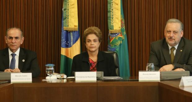 18日のジウマ大統領(Lula Marques/Agência PT)