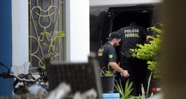 22日のラヴァ・ジャット作戦より(Fernando Frazão/Agência Brasil)