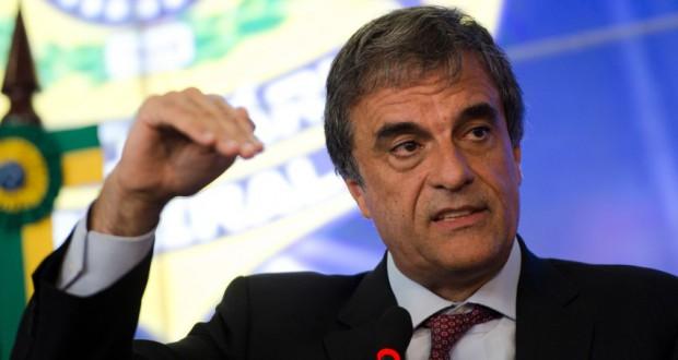 辞任したカルドーゾ法相(Marcelo Camargo/Agência Brasil)