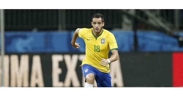 中国リーグに巨額移籍した昨年の全国選手権最優秀選手レナト・アウグスト(Rafael Ribeiro/CBF)