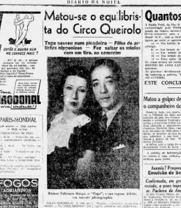 ジアリオ・ダ・ノイテ1940年6月12日付3面