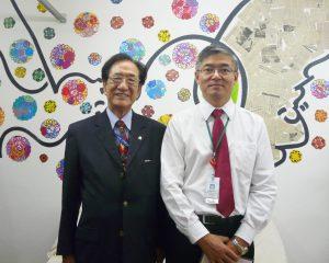 坂和副会長と渡辺さん