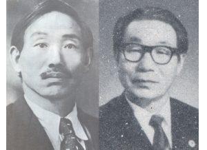 伯国での生長の家普及に貢献した松田大二郎、巳代志兄弟(左から)