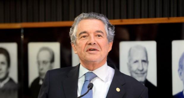 最高裁のアウレーリオ・メロ判事(Wilson Dias/Agência Brasil)