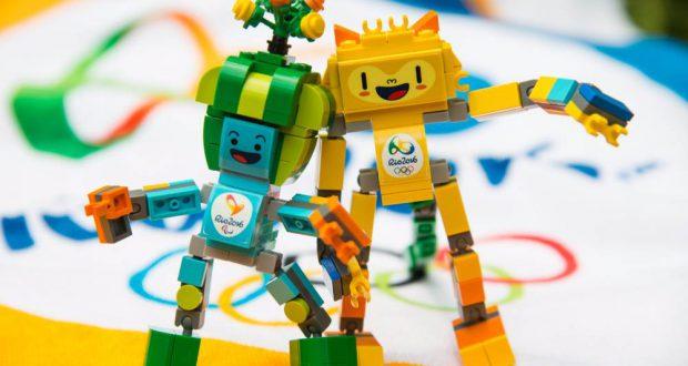 レゴのマスコット(リオ2016公式サイトより)