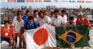 ビーチ選手権の写真