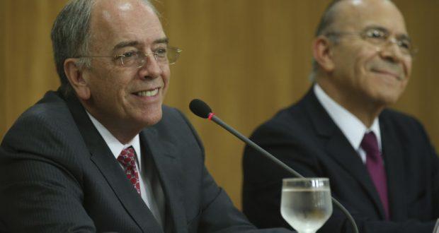 指名後の記者会見でのパレンテ氏(Fabio Rodrigues Pozzebom/Agência Brasil)