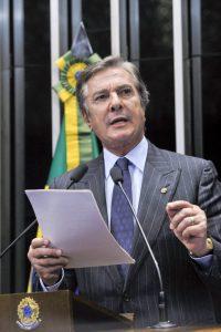 数少ない罷免経験者、コーロル元大統領(Foto: Geraldo Magela/Agencia Senado - 01/07/2015)