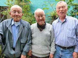(左から)鮫島さん、森田さん、盆子原さん