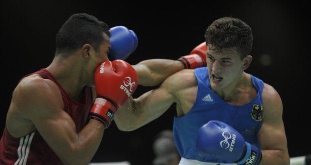 昨年12月リオで開かれたボクシングの五輪テストイベントの様子(Fernando Frazão/Agencia Brasil)