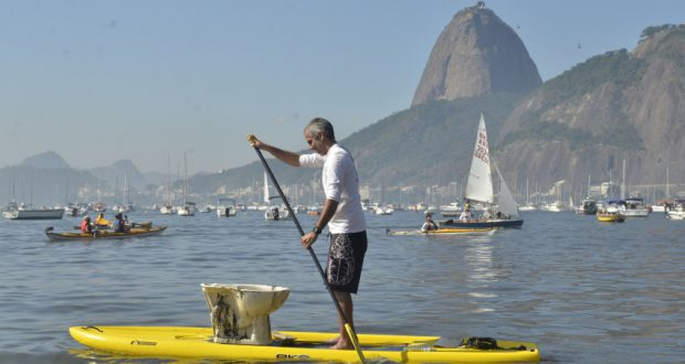 豪州の技術がグアナバラ湾浄化のための救世主となるか?(Fernando Frazao/Agencia Brasil)