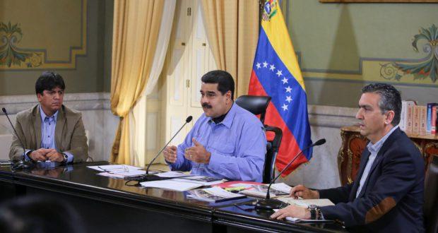 ベネズエラ、マドゥーロ大統領(Francisco Batista/Presidencia de Venezuela)