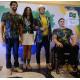 リオ・パラリンピック=ブラジル選手団のユニフォーム発表=チジュッカの森をイメージ