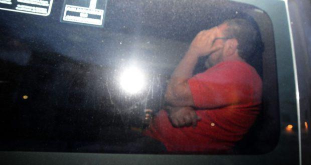 2月に逮捕された際のズウィ被告(Fernando Frazão/Agência Brasil)