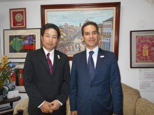損保ジャパン日本興亜・ド・ブラジルの川部弘明代表取締役、SOMPO SEGUROSフランシスコ社長
