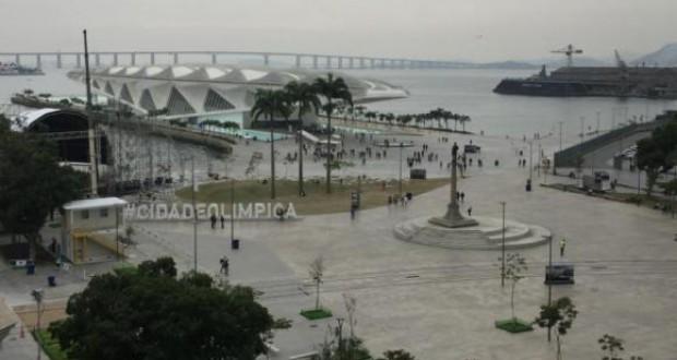 1日8万人の人出が予想される会場の一つ(Cristina Índio do Brasil/Agência Brasil)