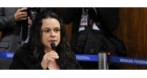ジウマ大統領の罷免請求を作成したことで知られるジャナイーナ弁護士(Edilson Rodrigues/Agência Senado)