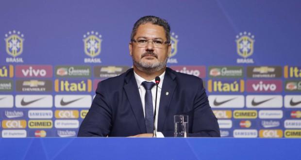 サッカー五輪代表のロジェリオ・ミカーレ監督(Rafael Ribeiro/CBF)