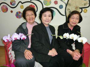 (左から)深田さん、阿部さん、島野さん