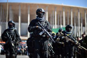 五輪警備のために投入される精鋭部隊(Foto: André Borges/Agência Brasília)