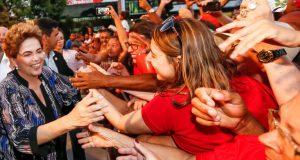 北東伯で今も人気が高い停職中のジウマ大統領(Foto: Roberto Stuckert Filho/PR)