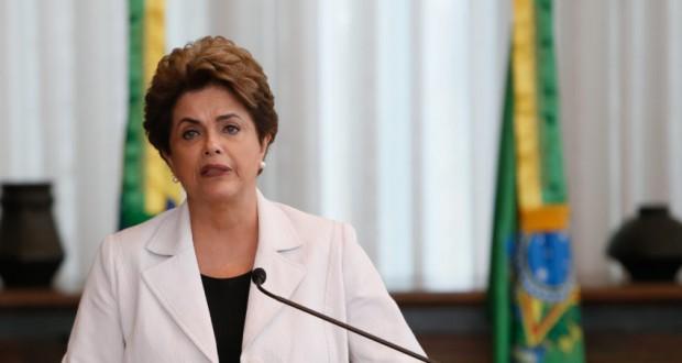 16日のジウマ大統領(Roberto Stuckert Filho/PR)