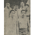 『パウリスタ新聞に見るコロニア30年の歩み』(1977年)16頁にある訪伯水泳団の記事(中列左から橋爪、古橋、浜口)