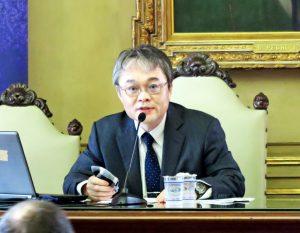 アマゾン日本移民について講演した丸山教授