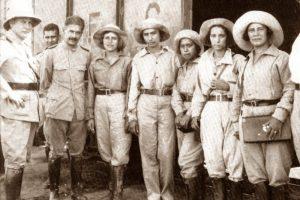 チャコ戦争の従軍看護婦達