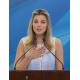 マルセラ大統領夫人が初演説=連邦政府の新福祉政策で=おしゃれと若さで好印象狙う