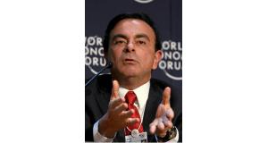 カルロス・ゴーン日産自動車社長(By World Economic Forum from Cologny, Switzerland (World Economic Forum Annual Meeting Davos 2008), via Wikimedia Commons)