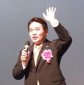講演中の前原講師