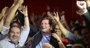 リオ市長選に勝利したクリヴェラ氏(Fernando Frazão/Agência Brasil)