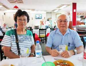 大矢良子さんと夫のジョルジさん