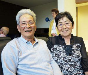北原厚志さんと妻の千代さん