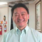 カスカベル文化体育協会の猪俣富男会長