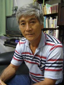 錦戸健会長(2009年撮影)