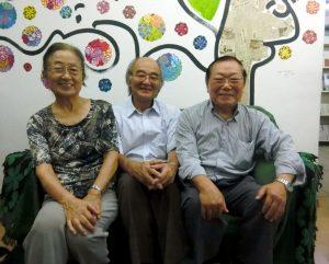 (左から)大西さん、鹿田さん、中野さん