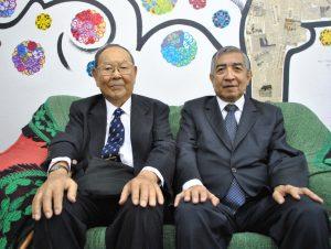 案内に訪れた近沢さん(左)と清水さん