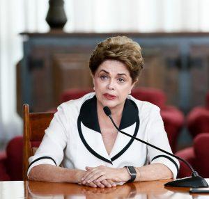 最後まで「ゴウペ」を繰り返したジウマ大統領(当時、Foto: Roberto Stuckert Filho/PR)