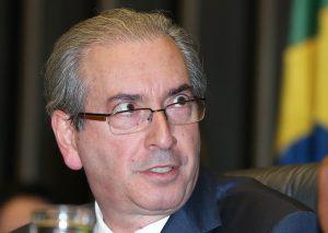 罷免される直前、必死の形相のクーニャ下院議長(当時、Foto: Lula Marques/Agência PT)