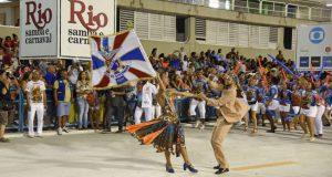 15日、リオのサンバ会場でリハーサルを行ったサンバチーム、イーリャ・デ・ゴヴェルナドール(Alexandre Macieira/Riotur)
