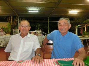 (左から)孝道さんと和教さん