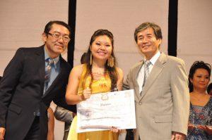 グランプリを受賞した小沢ユカさん