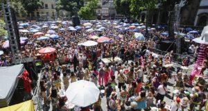 カーニバル本番まで1週間となり盛り上がるリオの街(Gabriel Santos/Riotur)