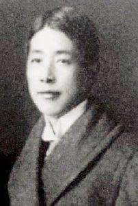 馬場称徳氏。日本政府を代表してパンチョ・ビジャ将軍との交渉役(セルヒオ・エルナンデス氏所蔵コレクション)